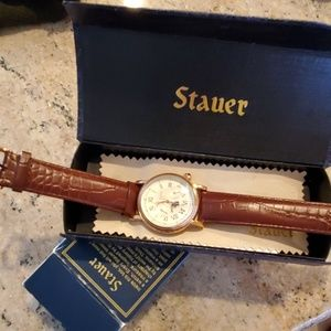 Other - Stauer Moon Phase Rose Gold Finish Watch